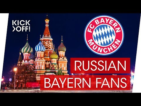 FC Bayern Fans in Russia | The Bayern Reds