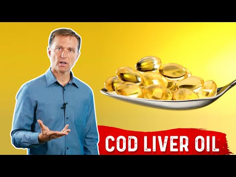 Cod Liver Oil Benefits | Dr.Berg