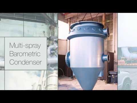 Schutte & Koerting Steam Jet Vacuum Systems