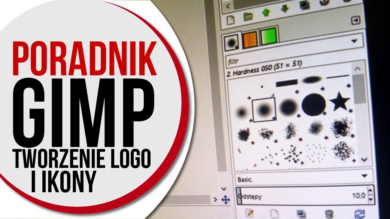 Gimp Poradnik Cz 2 Tworzenie Logo I Ikony Na Stronę Www