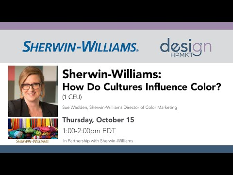 Sherwin-Williams: How Do Cultures Influence Color?