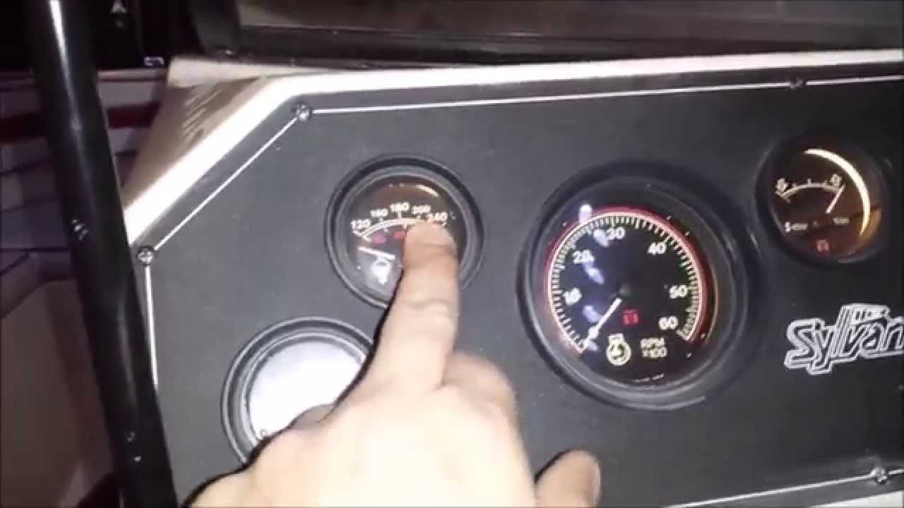 Mercruiser Temperature sender - YouTube