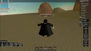 Jogue como Jed | Roblox: STAR WARS primeira ordem-parte 1