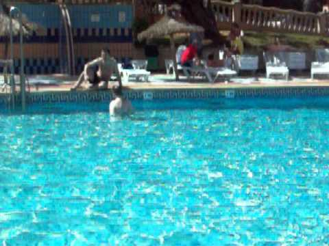 hotel honolulu Magaluf, round the pool! very hot! so was the weather ;)