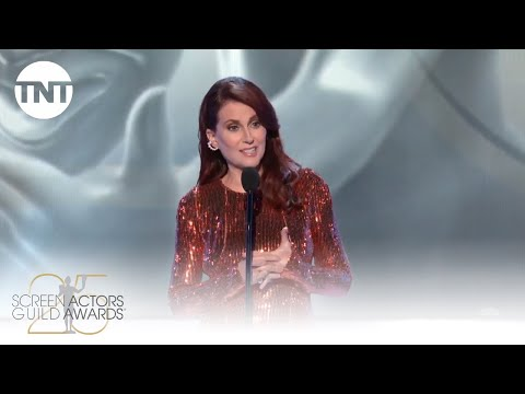 Megan Mullally: Opening Monologue | 25th Annual SAG Awards | TNT
