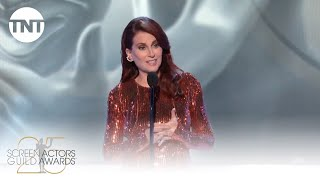 Megan Mullally: Opening Monologue | 25th Annual SAG Awards | TNT