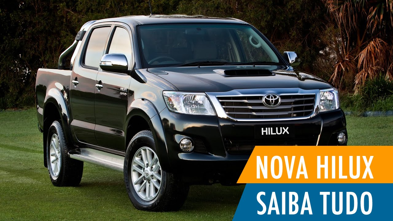 Nova Hilux 2015 - Preço, Consumo, Ficha Técnica, Avaliação
