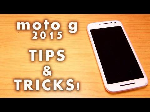 Motorola Moto G 3rd Generation TIPS & TRICKS, Helps PART-I