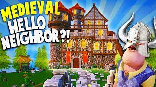 HELLO NEIGHBOR IN A CASTLE?! NEW GAME LIKE HELLO NEIGHBOR! | Goodbye My King Gameplay Part 1