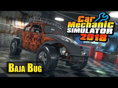 Volkswagen Beetle Baja | Car Mechanic Simulator 2018
