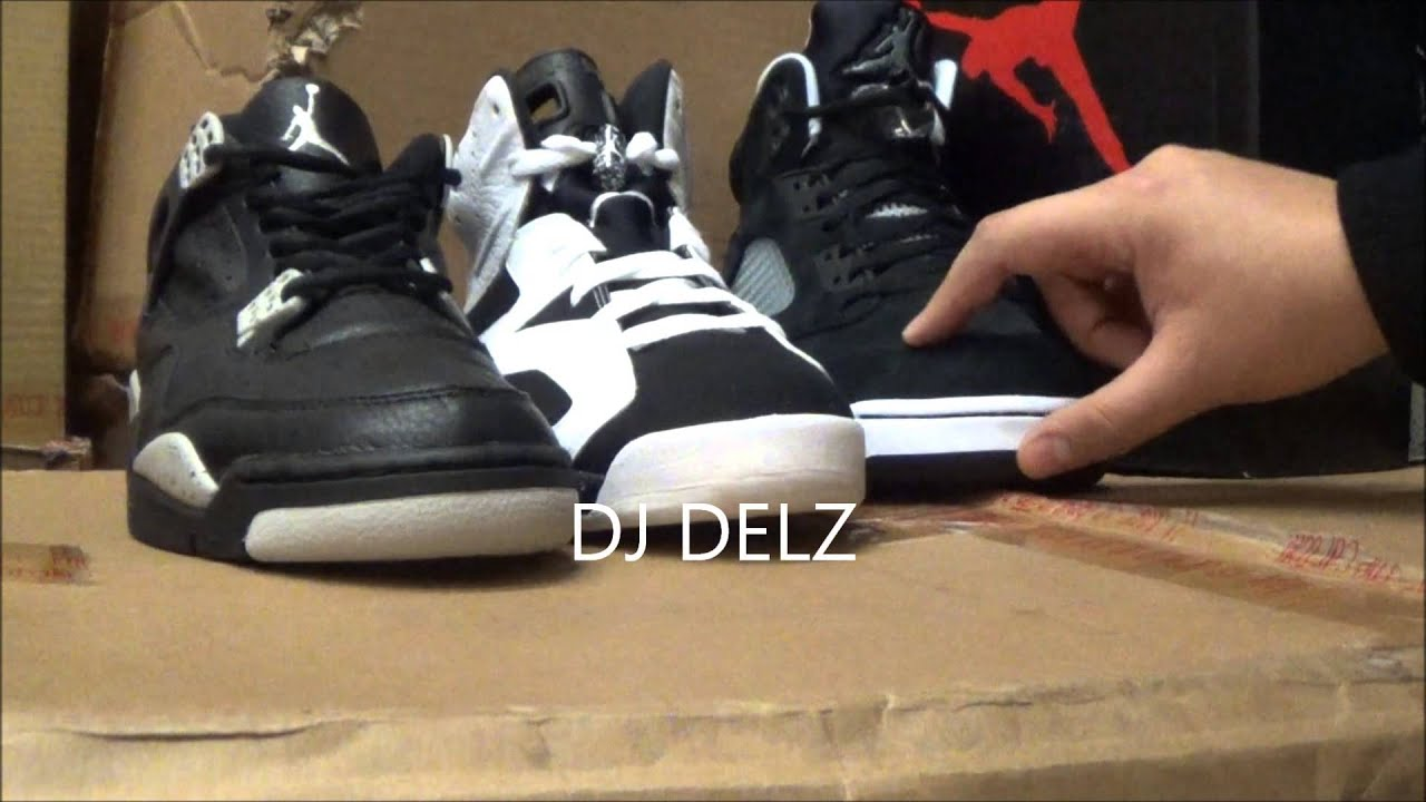 sale retailer bbade 9267a Air Jordan Oreo 4 VS 5 VS 6 Sneakers W/ @DjDelz #PickOne Triple Threat Match