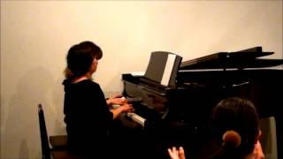 2013年ピアチェーレピアノ研究会秋ピアノコンチェルトより 同じ職場の方...