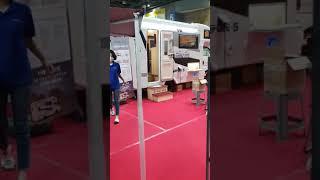 일산 킨텍스 스포츠·레저 산업 박람회 유로밴 백 전시중…