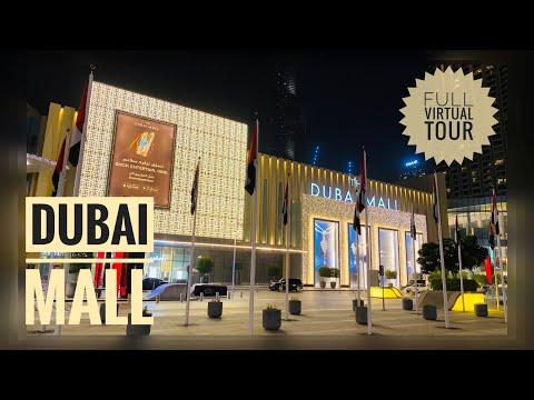 Dubai Mall | Full Virtual Tour | 4k Video | The Exotic Traveller