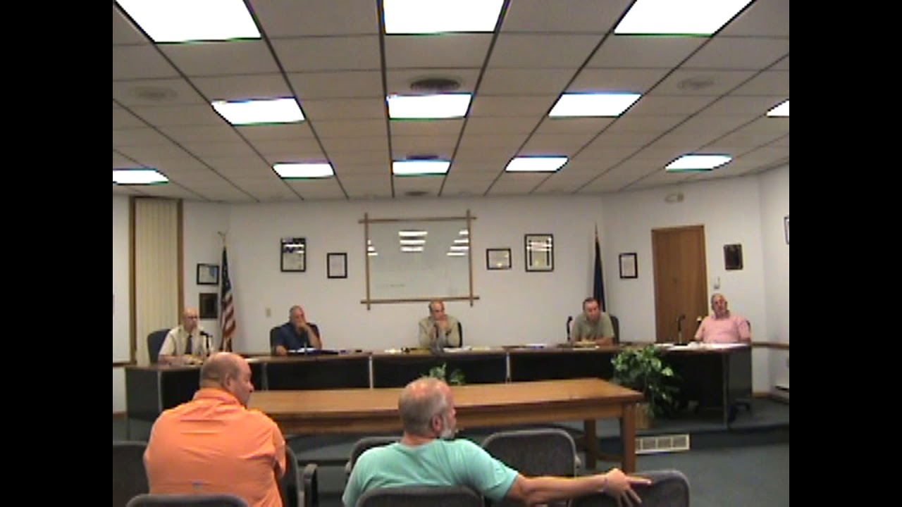 Rouses Point Village Board Meeting  8-6-18