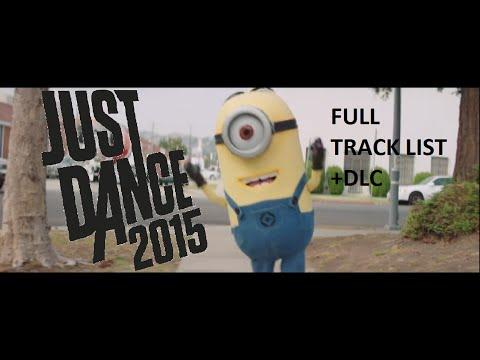 Just Dance 2015 - FULL Tracklist