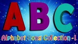 ABC Alphabet Songs for Children | 3D ABCD Songs Collection | Volume 1