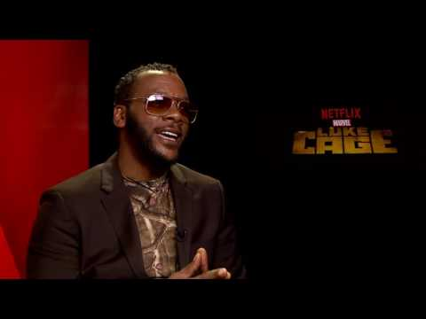 1 on 1 with Erik LaRay Harvey Marvel's Luke Cage