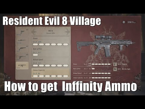 Resident Evil Village : How To Get Infinite Ammo For Any Weapon