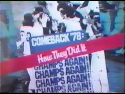 "WPIX-""Comeback 78: How The Yankees Did It"""