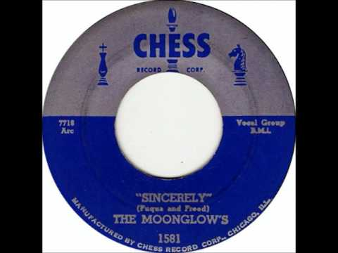 Moonglows - Sincerely, 1956 Chess Records.