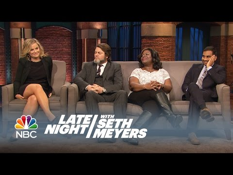 The Parks and Recreation Cast Answers Fan Questions - Late N