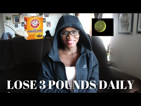 I TRIED THE BAKING SODA LEMON DRINK TO LOSE 3 POUNDS DAILY AND THIS IS WHAT HAPPENED