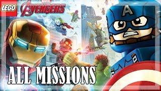 LEGO Marvel's Avengers - All missions, Full game