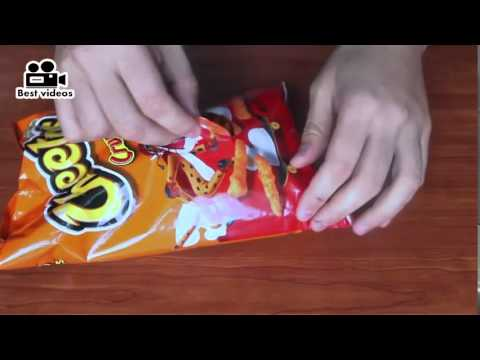 How to open a Chips Bag Like a Boss!