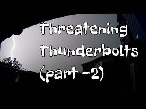 Lightening & Thunderbolts at Mumbai on 15 10 2017