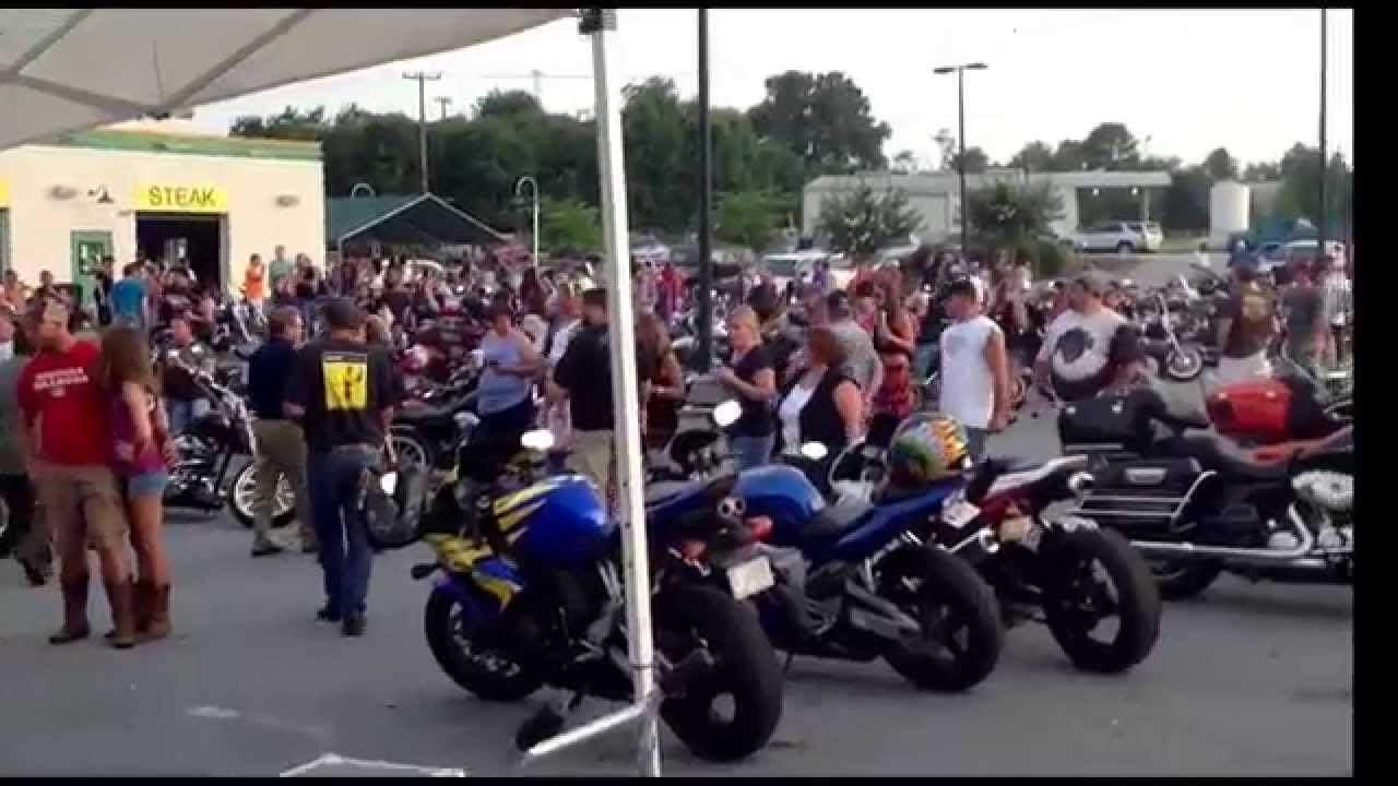 bike night greenville harley 6/18/14 sc - youtube