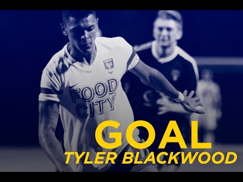 GOAL: Tyler Blackwood dekes out FC Tucson defender to score