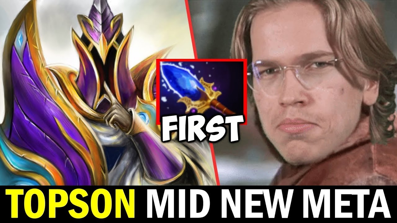 TOPSON Mid Silencer — New Scepter First Core Item New Meta? Dota2 thumbnail