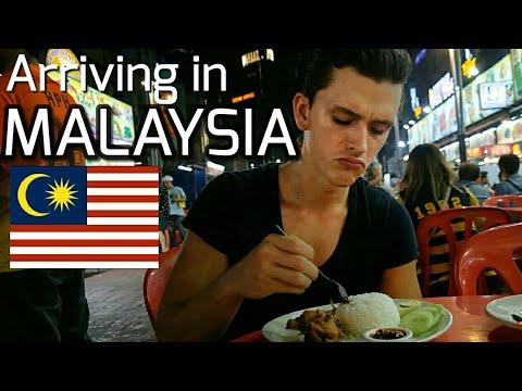 FIRST 24 HOURS IN MALAYSIA / FIRST NASI LEMAK IN KUALA LUMPUR !
