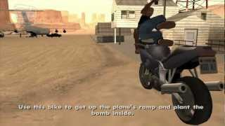 GTA San Andreas - Walkthrough - Mission #71 - Stowaway [Alternative Ending] (HD)