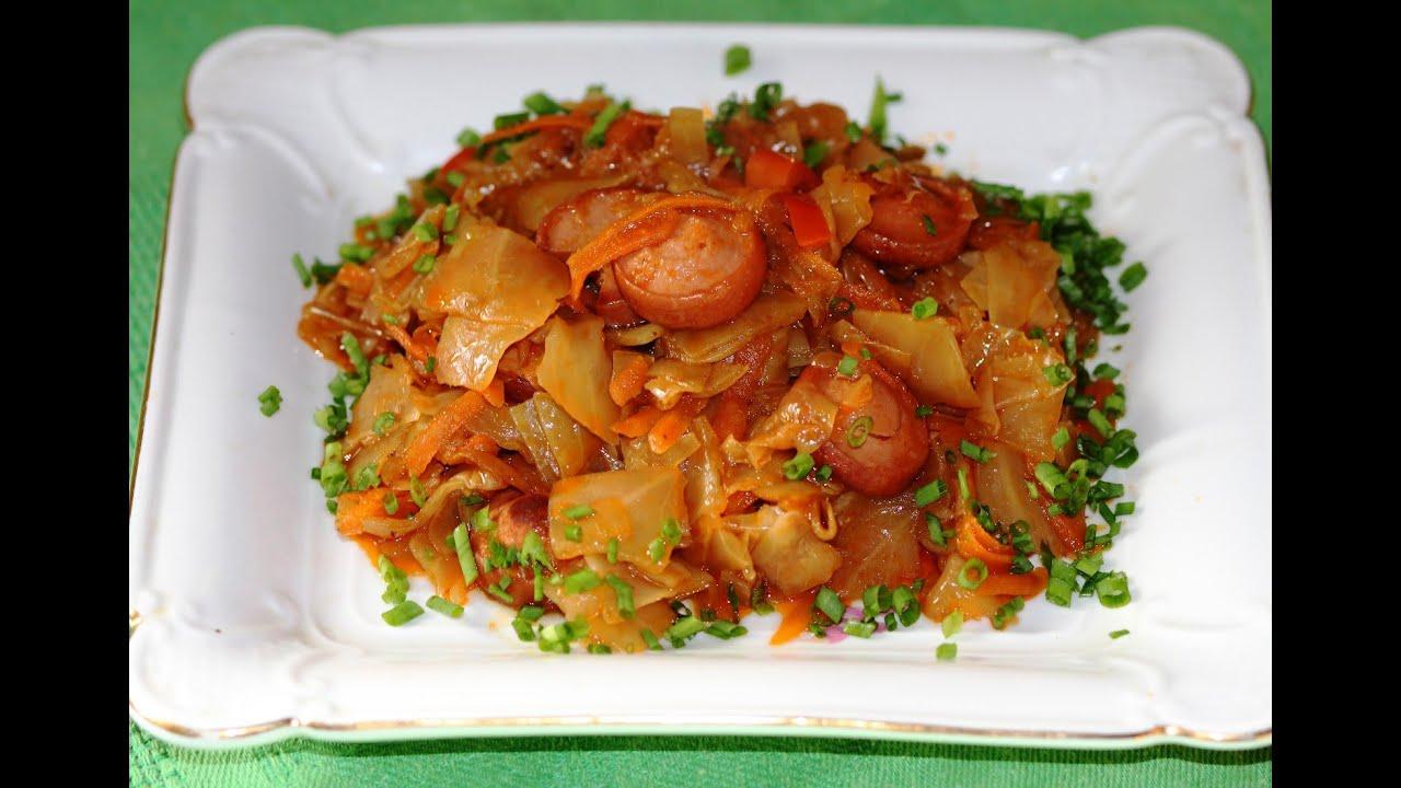 солянка из капусты и картофеля