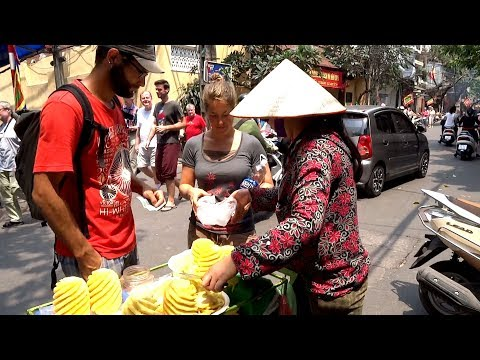 Exotic Fruits in Asia, Vietnam, Laos, Malaysia, Street Food in Asia