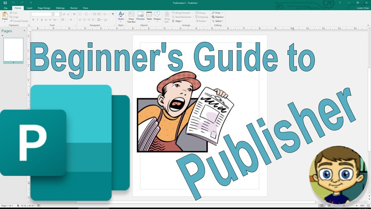 The Beginner's Guide to Microsoft Publisher - 2018 Tutorial