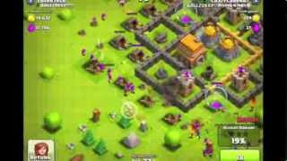 Clash Of Clans - Giant Healer Strategy Attack By CrazyCraden87