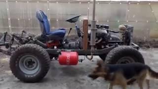 Самодельный трактор. обзор