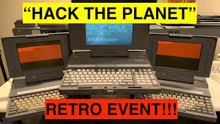 """Getting My Craziest Computers Ready for the """"Hack the Planet"""" Retro Event!"""