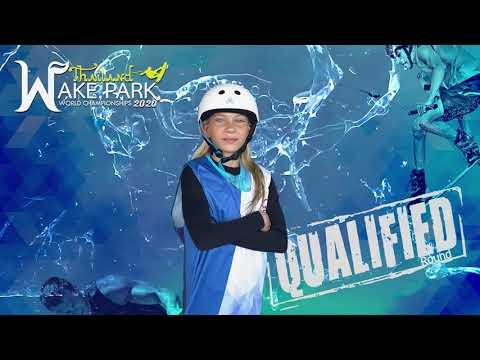 Alisa Blazhevichus - Girls Under 13 yo Wakeboard