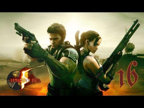 Resident Evil 5 z Dudusiem 16(G) Palenie rzygopempka