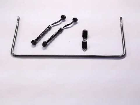 Bronco Front Sway Bar 1966-77 From Hellwig Products Co. ID6002