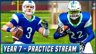 NCAA Football 14 Dynasty Year 7 - FULL TEAM PRACTICE w/ UPDATED PLAYBOOK | Ep.109