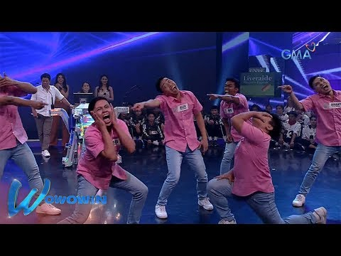 Wowowin: Prime Moverz dances to Willie Revillame's song