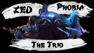 The Trio  |  Zed, Katarina and Yasuo Montage