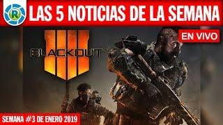 #EnVivo Blackout gratis!, Destino Final Reboot, Mortal Kombat 11 y más!...