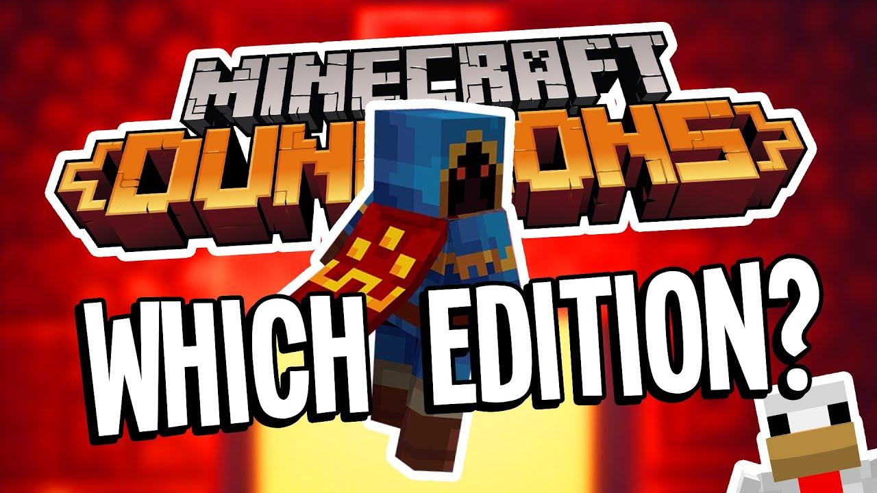 Minecraft Dungeons VS Minecraft Dungeons Hero Edition: Which