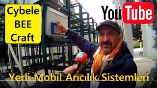 Cybele Bee Craft Mobil Arıcılık Sistemlerinde Son Teknoloji 4.Armasad Arıcık Fuarı Ankara'da